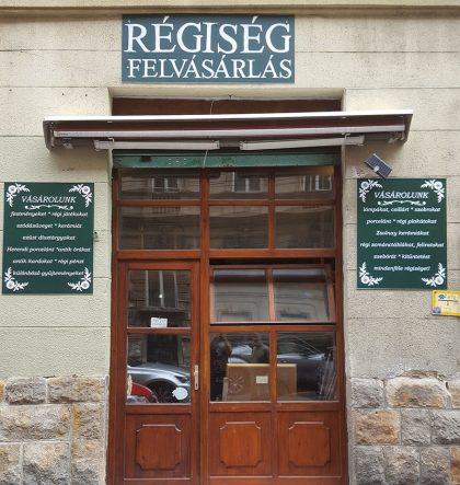 Régiség felvásárlás üzlet bolt Wesselényi utca 69