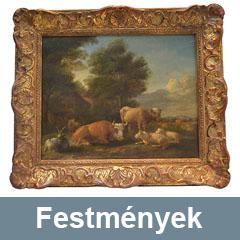 Régi antik festmények felvásárlása